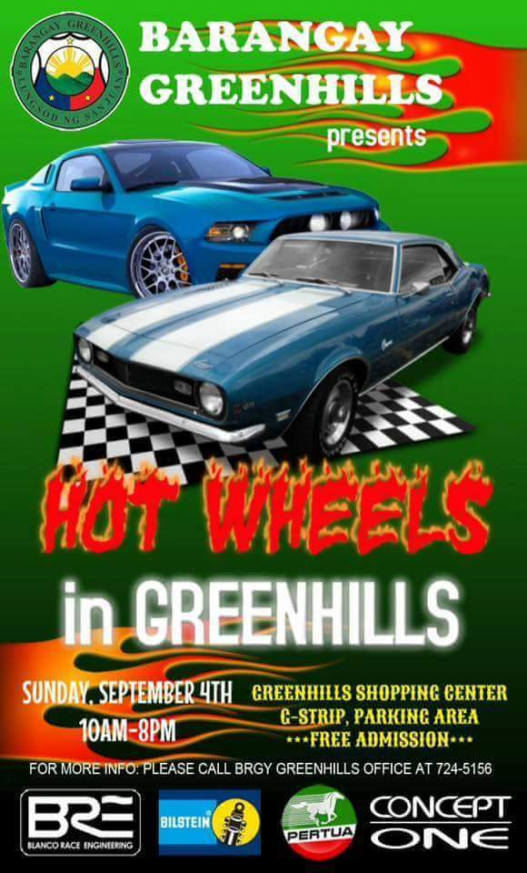 Hot Wheels in Greenhills